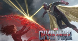 Civil War - Vision & Scarlet Witch